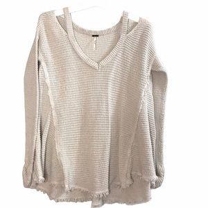 Free people moonshine vneck sweater